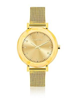 K&Bros  Reloj 9183 (Dorado)