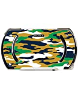 Blue Gold Green Camo Camouflage Psp Go Vinyl Decal Sticker Skin By Moonlight Printing