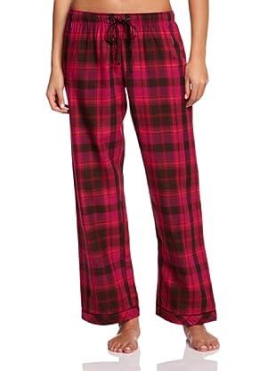 Cyberjammies Pantalón De Pijama Balancing Act Checks (Rojo)