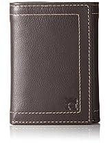 Haggar Men's Buckskin Trifold Wallet