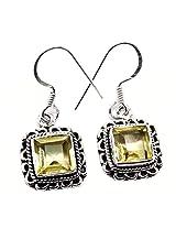 Admyro Latest Design Earring-Silver Earring-Partywear Earring-Designer Earring-AZE986