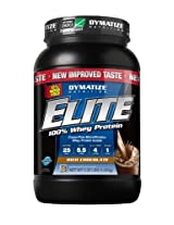 Dymatize Nutrition Elite Whey Protein Powder- 2.07 lbs (Rich Chocolate)