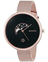 Skagen Gitte Analog Black Dial Women's's Watch - SKW2371