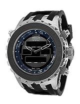 Men'S Subaqua Analog-Digital Multi-Function Black Dial Black Polyurethane (12592)