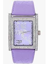Attractive DB23J302Y Purple/Purple Analog Watch