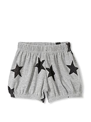 NuNuNu Baby Star Yoga Shorts (Heather Grey)