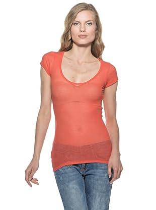 Stefanel T-Shirt (Rot)