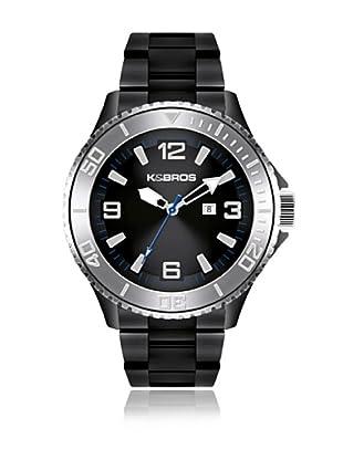 K&BROS Reloj 9564 (Negro)