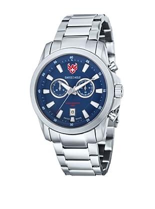 Swiss Eagle Reloj Field Azul