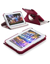 Fosmon GYRE Series Revolving Leather Case for Samsung Galaxy Tab 2 7.0 / P3100 (Pink)