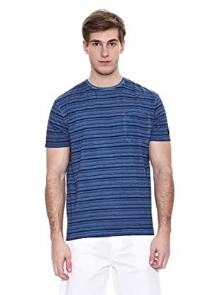 Springfield T-Shirt Indigo Stripes