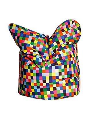 Sitting Bull Puff Grande Fashion Bull Happy Pixels Multicolor