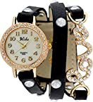 Pappi Boss Vintage Love Analog Gold Dial Women's watch-PB16