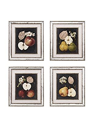 Set of 4 Camilla Fruit Wall Décor