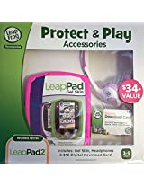 LeapFrog LeapPad 2 Protect and Play Accessories with Pink Gel Skin
