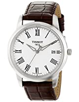 Tissot Classic Dream Analog White Dial Men's Watch T0334101601301