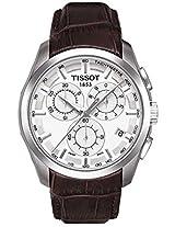 TISSOT Couturier T035.617.16.031.00 Chronograph white Men Wrist Watch
