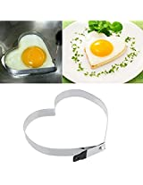 Cook Fried Egg Pancake Stainless Steel Heart Shaper Mould