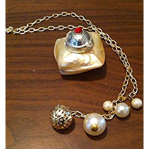 Cupkin Accessories A Long Chain With Pearls