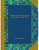 Minningarrit íslenzkra hermanna 1914-1918