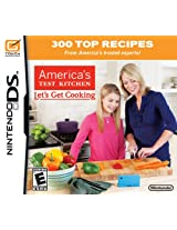 America's Test Kitchen: Let's Get Cooking (Nintendo DS) (NTSC)