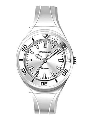 K&BROS 9176-2 / Reloj de Señora con correa de caucho blanco