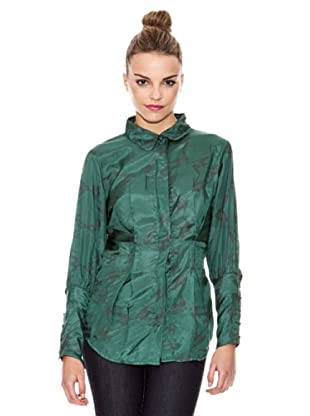 Laga Camisa Pájaros Clásica (Verde)