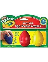 2 X Crayola My First Crayola Scribbled Egg Crayons