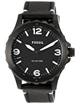 Fossil End of Season Analog Black Dial Men's Watch - JR1448