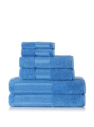 Garnier-Thiebaut 6-Piece Bath Towel Set (Lagon)