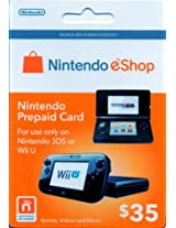 Nintendo eShop Card US $ 35 for use with Wii U and 3DS (US Version Consoles only)