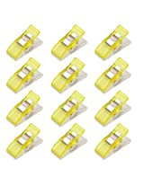Imported 50Pcs Wonder Clips Quilters clips Sewing Clip Quilting Supplies Yellow