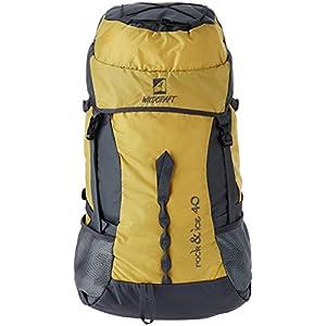 Wildcraft Rock & Ice Hiking Backpacks-Yellow