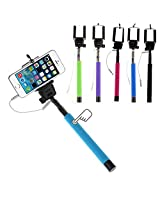 BOOMERBERG SELFIE STICK WITH AUX - MULTICOLOR