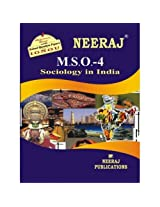 MSO4-Sociology in India (IGNOU help book for MSO-4 in English Medium)