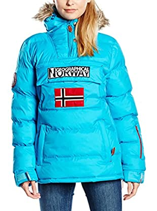 Geographical Norway Abrigo Bolide Turquesa 2XL (FR 44/46)