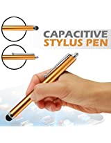 GB STYLUS PEN FOR IPHONE 3G 3GS 4 4S 5 IPAD 2 3 4 SAMSUNG HTC TOUCH TABLET GOLDEN