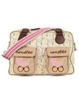 Pink Lining Mama Et Bebe Nappy Bag, Sam the Dalmatian Cream