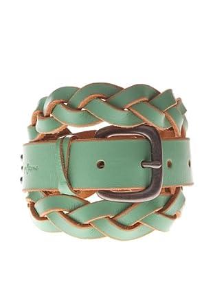 Pepe Jeans London Cinturón Edna (Verde Inglés)