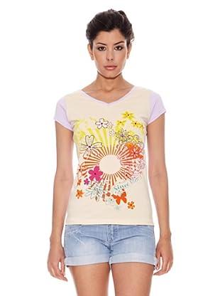 Peace & Love Camiseta South Gate (Beige)