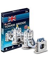 Frank 3D Puzzle Small Cubic Fun Tower Bridge