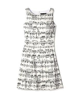 Chetta B Women's Fit & Flare Music Dress