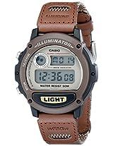 Casio Digital Grey Dial Men's Watch - W89HB-5AV