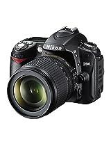 Nikon D90 12.3MP Digital SLR Camera (Black) with AF-S 18-105mm VR Lens and AF-S DX NIKKOR 35mm f/1. Twin Lens  Memory Card, Camera Bag