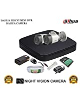 DAHUA HDCVI 4CH DH-HCVR4104C-S2 DVR + DAHUA HDCVI DH-HAC-HFW1000RP BULLET CAMERA 2Pcs + 1 TB WD HDD + 3+1 COPPER CABLE + POWER SUPPLY (FULL COMBO)