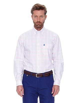 Cortefiel Camisa Cuadro Multicolor