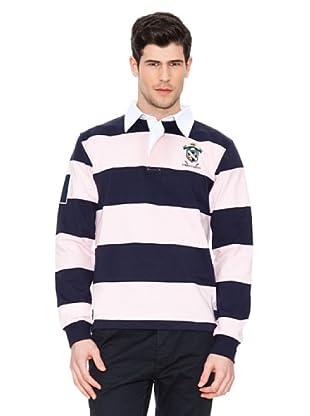 Valecuatro Polo Rugby Banda (Marino / Rosa)