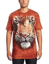 The Mountain Men's Tiger Face T-Shirt