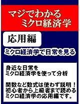 mikurokeizaigakudenitijyouwomiru: majidewakarumikurokeizaigaku ouyouhen