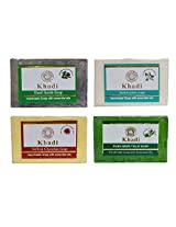 Khadi Soaps 500 Grams (Pack of 4) (SAJABANET)